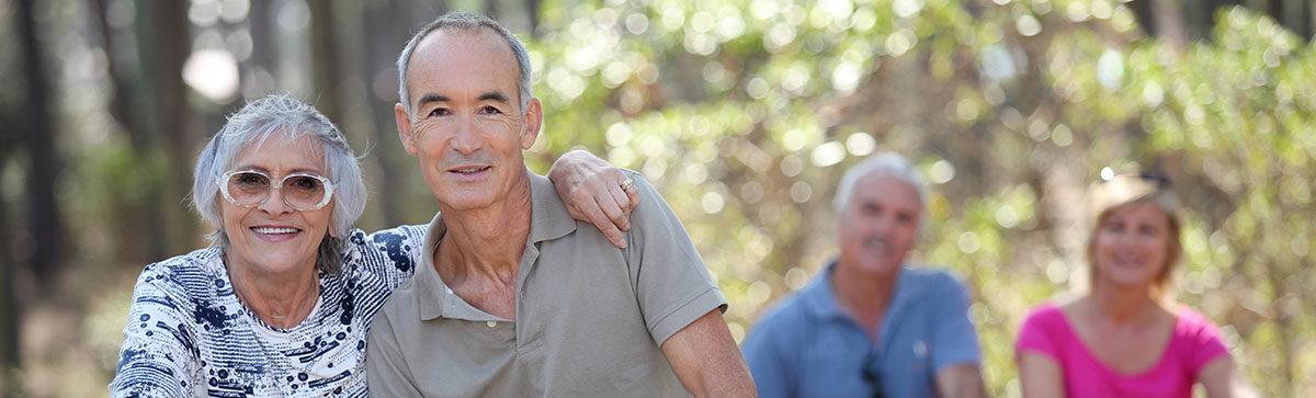 Older Happy Americans