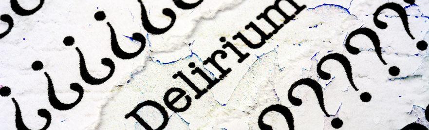 Delirium typed on paper